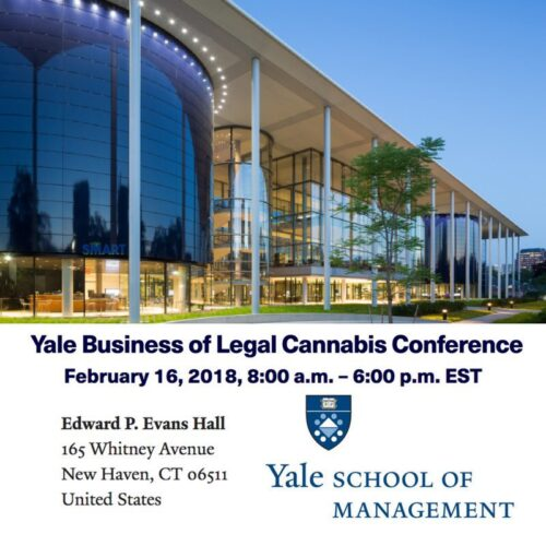 Yale business legal cannabis conf