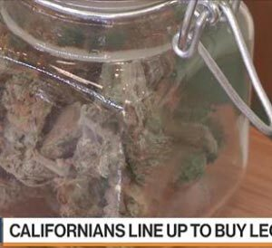 Enthusiasm High for Legal Pot Sales in California