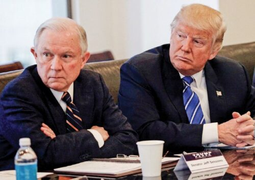cannabis-leaders-weigh-in-on-ag decision Trump and sessions in meeting